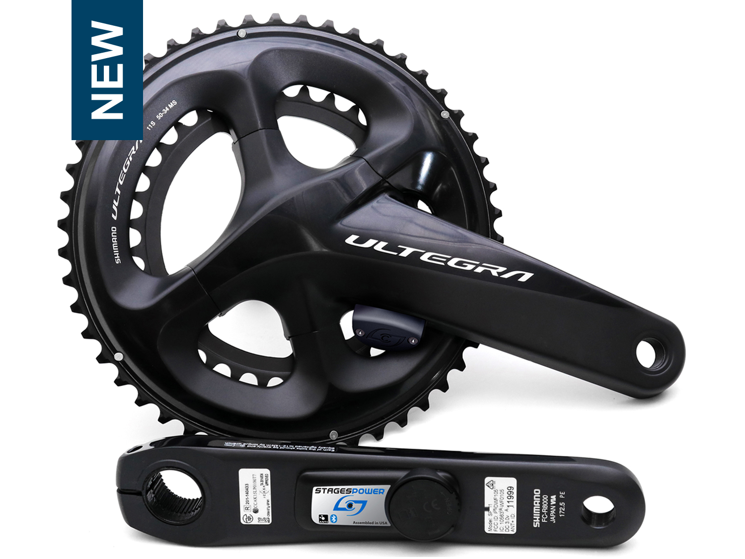 Stages Ultegra R8000 Dual Side
